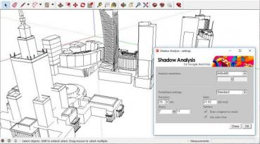 Shadow Analysis for SketchUp