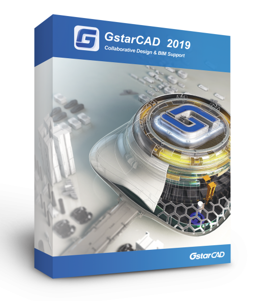 GstarCAD 2019 Update Einzelplatz PLUS PROMOTION (egal wie alt, egal von welcher Version + 1 Jahr Maintenance u. Support)